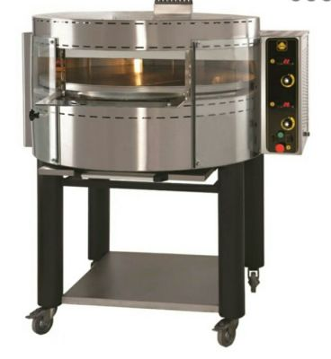 PIEC DO PIZZY gazowy z obrotową płytą OK1 Gas pizza oven with rotating deck and base 29.860,00 PLN