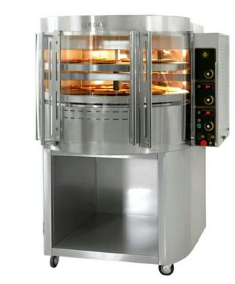 PIEC DO PIZZY gazowy z obrotową płytą OK2 Gas pizza oven with rotating deck and base 37.370,00 PLN