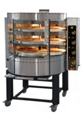 PIEC DO PIZZY gazowy z obrotową płytą OK3 Gas pizza oven with rotating deck and base 44.487,00 PLN    Gas pizza oven with rotating deck and base            Gas pizza oven with rotating deck and base 44.487,00