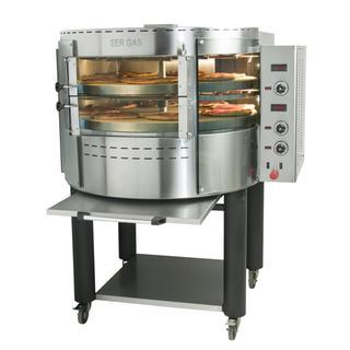 PIEC DO PIZZY elektryczny OKE2 Electric pizza oven with rotating deck and  base 35.870,00PLN  Electric hot air oven.FEP Electric hot air oven